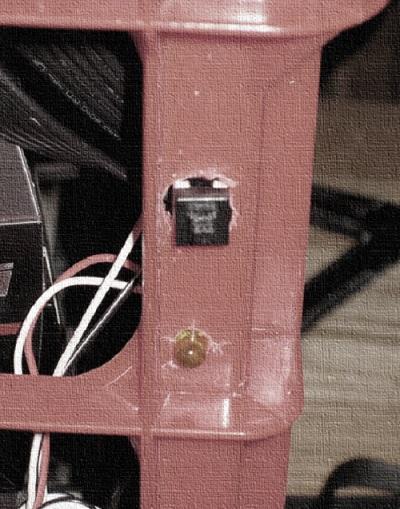 montar interruptor y led para rig de mineria
