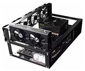 Rig Clásico de Acero 6 GPU