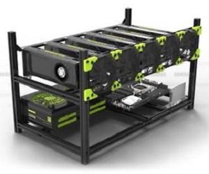 Rig Veddha V3C Clásico de Aluminio 6 GPU
