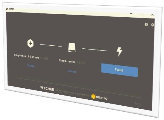 SimpleMining: crear unidad flash USB con SMOS