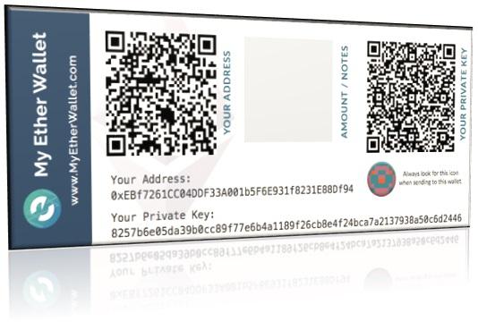 MyEtherWallet. Crear billetera de papel